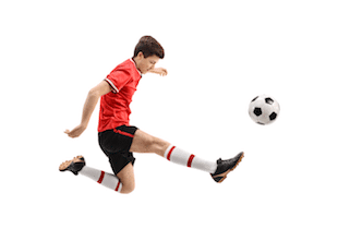 FAI growing pains apophysitis and avulsion fracture can occur with kicking sports