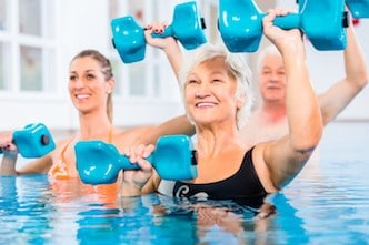 hydrotherapy or aquatic exercise
