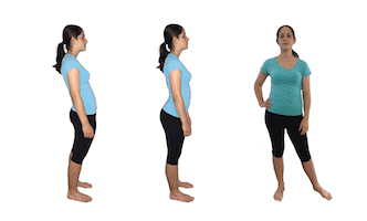 are these good postures for hip pain relief