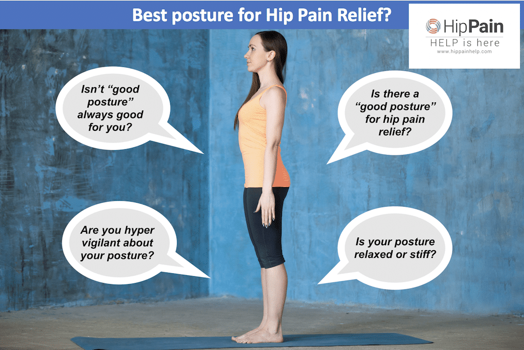 best goof posture for hip pain relief