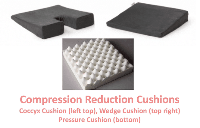 pressure cushions for hip pain relief sitting