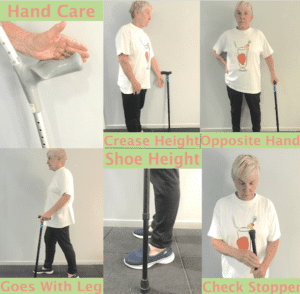 tips on how to use a walking stick correctly