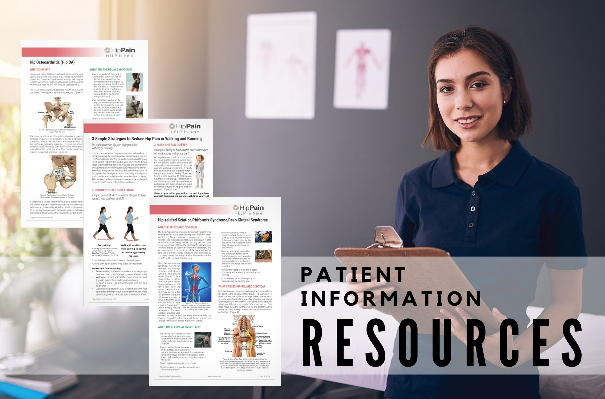 Patients Infomation Resouces for Hip Conditions