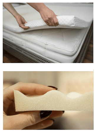 matress toppers for hip pain relief sleeping