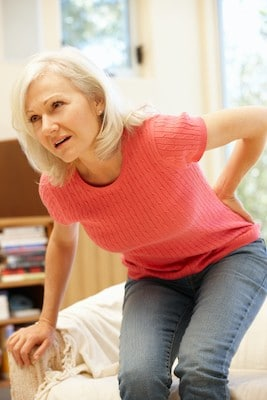 lower back pain that can refer into the hip or pelvis