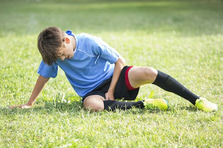 pubic symphysis pain, groin pain, pubic related groin pain injury in young footballer