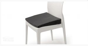 posture wedge cushion on chair