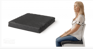 pressure relief cushion to reduce pain sitting