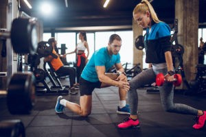 strengthen the muscles of the hip and pelvis to improve groin pain