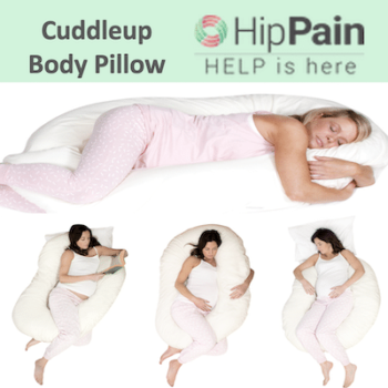 cuddleup body pillow for pain relief and pregnancy